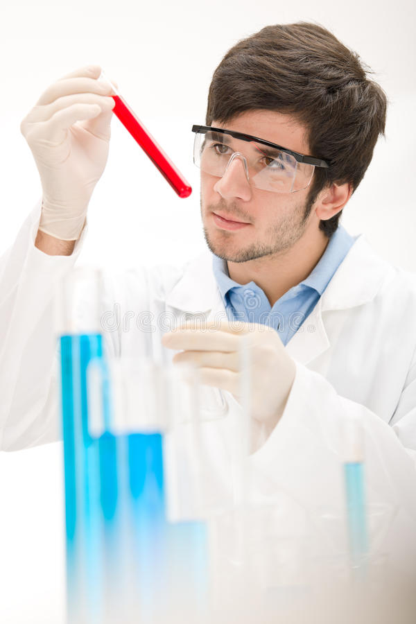 eksperymentu grypowy laborancki naukowa wirus fotografia royalty free
