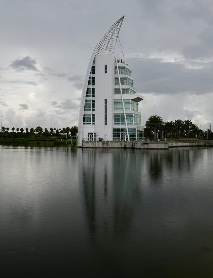 Eksploraci wierza przy Portowym Canaveral obrazy royalty free