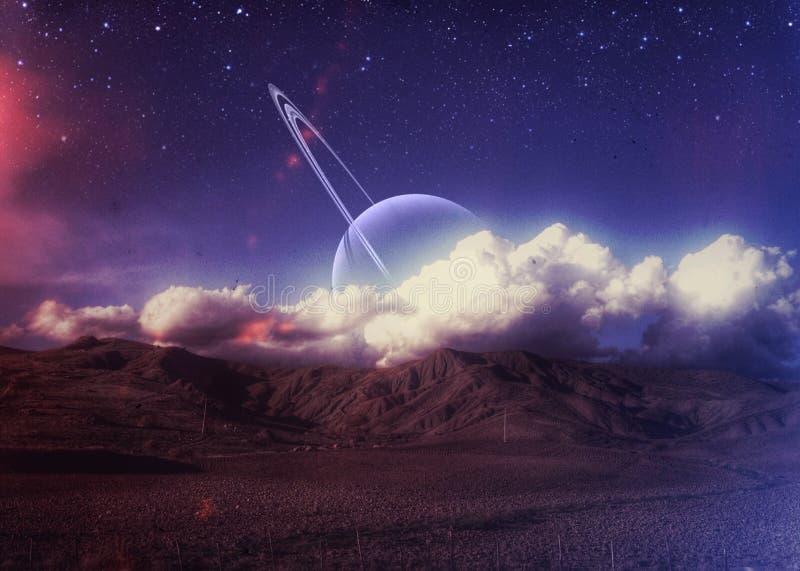 Eksploracja przestrzeni kosmicznej zdjęcia stock