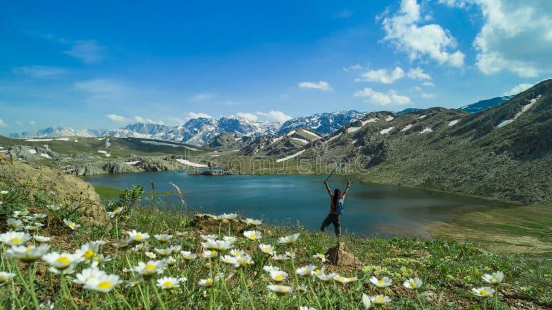 Eksploracja, przyroda i krajobrazy w wspaniałych krajobrazach obrazy stock