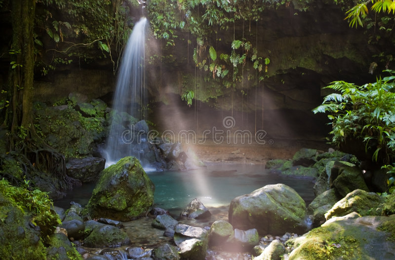 eksploracje dominiki zdjęcia stock