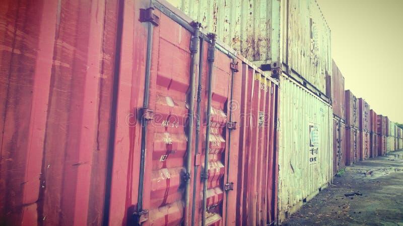 Eksportowi zbiorniki zdjęcia stock