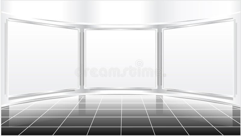 Ekspozycja ekran ilustracji
