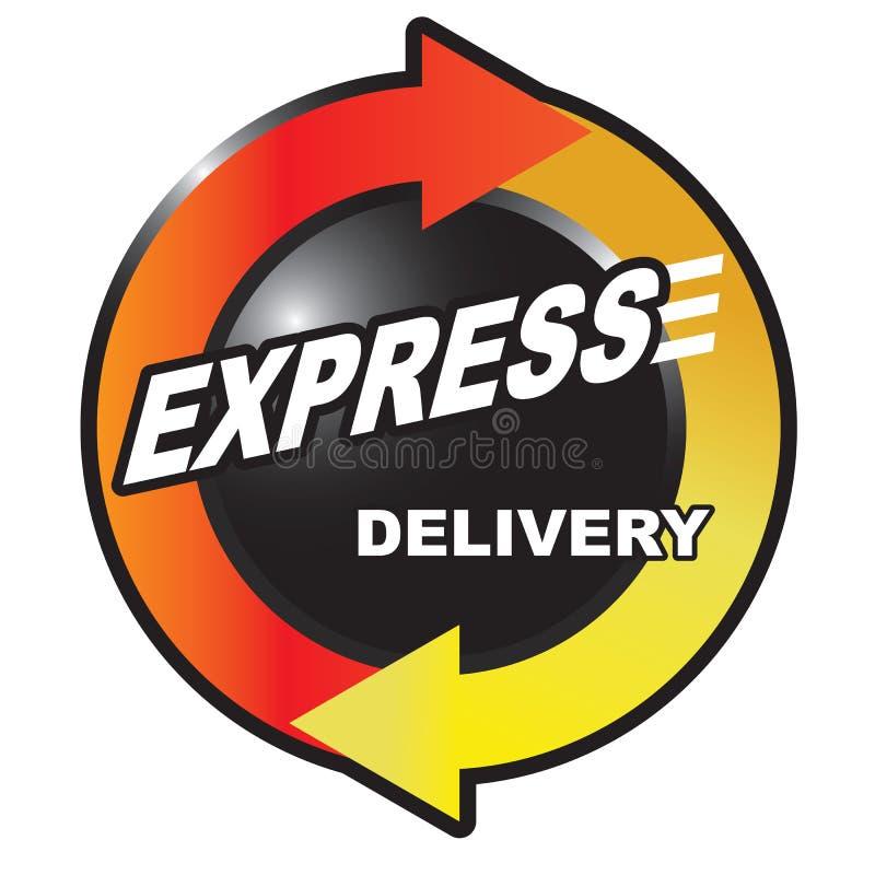 ekspresowy dostawa post ilustracji