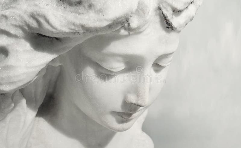 Ekspresyjny anioł fotografia royalty free