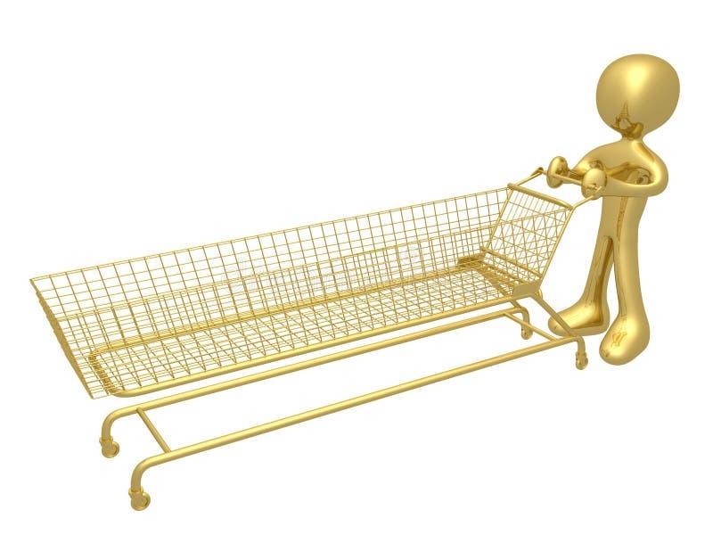 ekstremalne zakupy ilustracji
