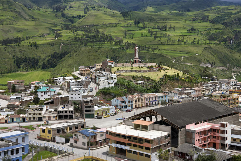 Ekwador Alausi, Chimborazo prowincja - fotografia royalty free