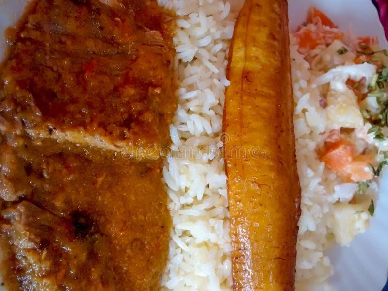 Ekwadorski Typowy jedzenie zdjęcia stock