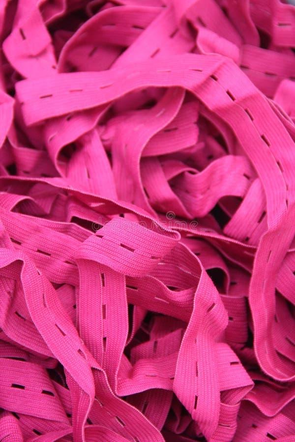 Elástico rosado imágenes de archivo libres de regalías