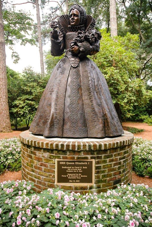Elżbietańscy ogródy zdjęcia royalty free
