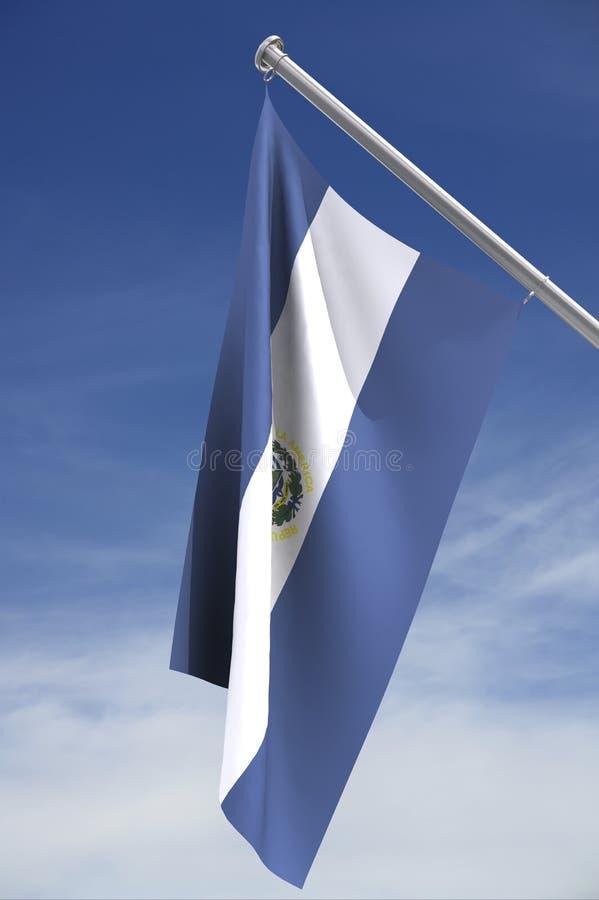 el标志国民萨尔瓦多 向量例证