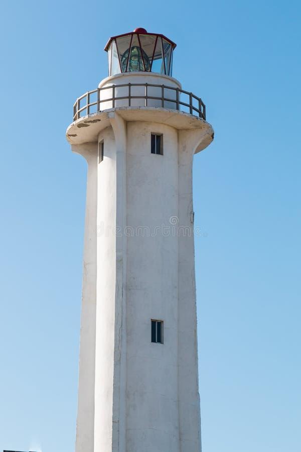 El法鲁灯塔在提华纳墨西哥 免版税库存照片