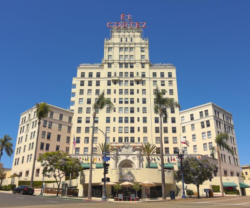 El科尔特斯公寓旅馆射击,圣地亚哥 免版税图库摄影
