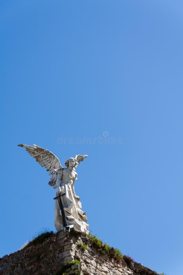 El ángel de exterminio foto de archivo