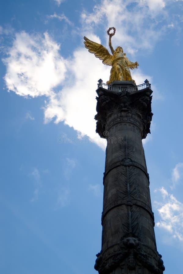 El ángel de la independencia fotos de archivo