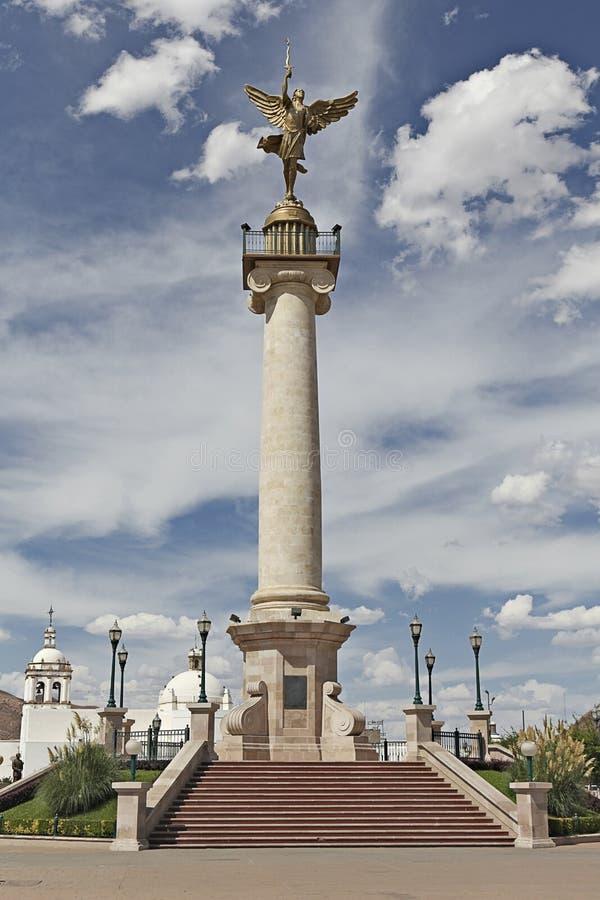 El ángel de la libertad en la chihuahua México fotos de archivo libres de regalías