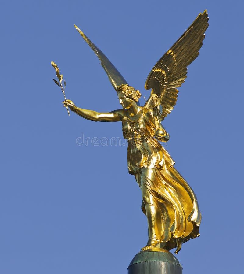 El ángel de la paz en Baviera fotos de archivo libres de regalías