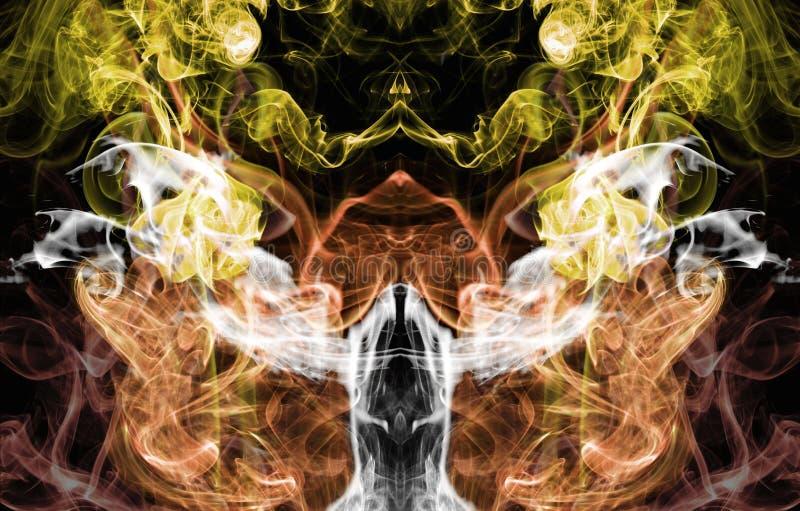 El ángel del humo imagen de archivo libre de regalías