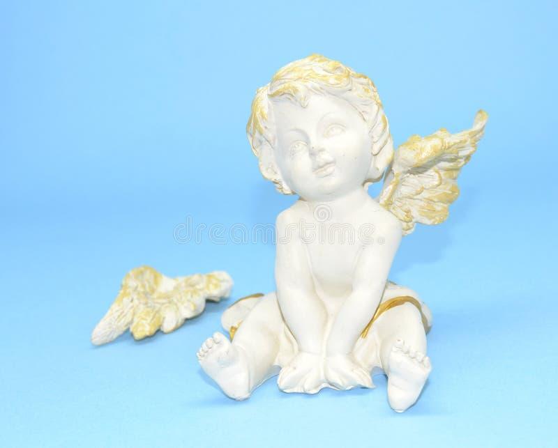 El ángel travieso foto de archivo