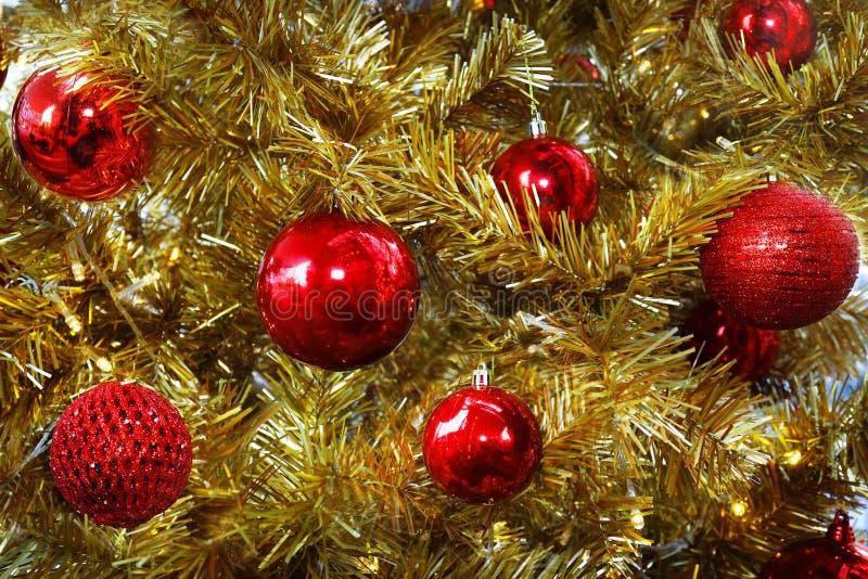 El árbol de la Navidaddecoración, celebración del Año Nuevo imagen de archivo