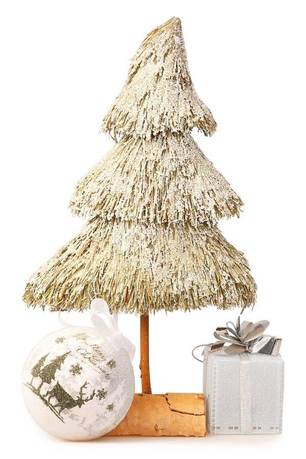 El árbol de navidad hizo la paja del ââof