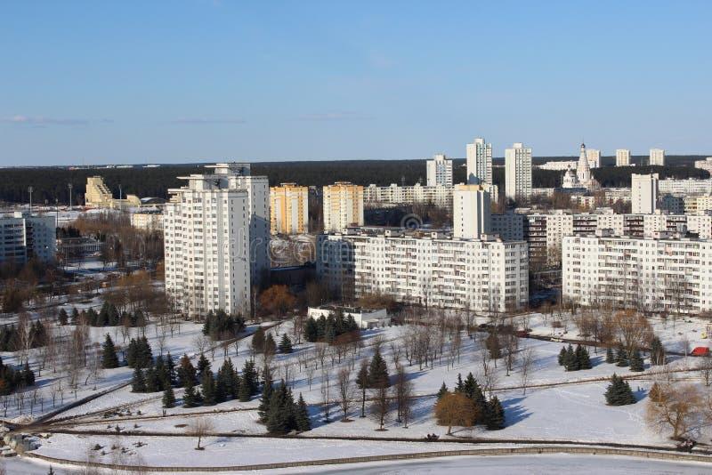 El área el este en Minsk foto de archivo libre de regalías
