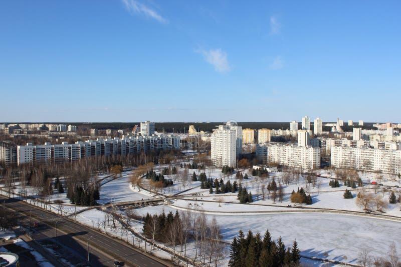 El área el este en Minsk foto de archivo