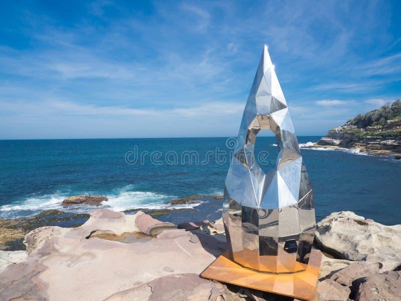 El 'contrapunto 'es ilustraciones esculturales por el forlano de Penélope en la escultura por los acontecimientos anuales del mar imagen de archivo libre de regalías