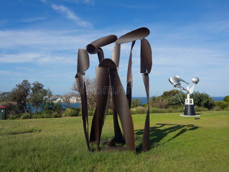 El 'tiro de la cubierta 'es ilustraciones esculturales de James Rogers en la escultura por los acontecimientos anuales del mar li imagen de archivo
