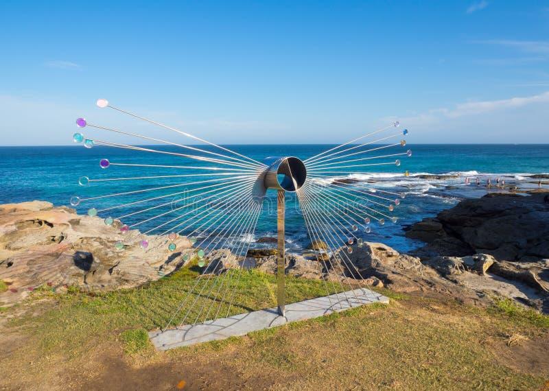 El 'vuelo 'es ilustraciones esculturales de Rhiannon West en la escultura por los acontecimientos anuales del mar libres al públi imagen de archivo libre de regalías
