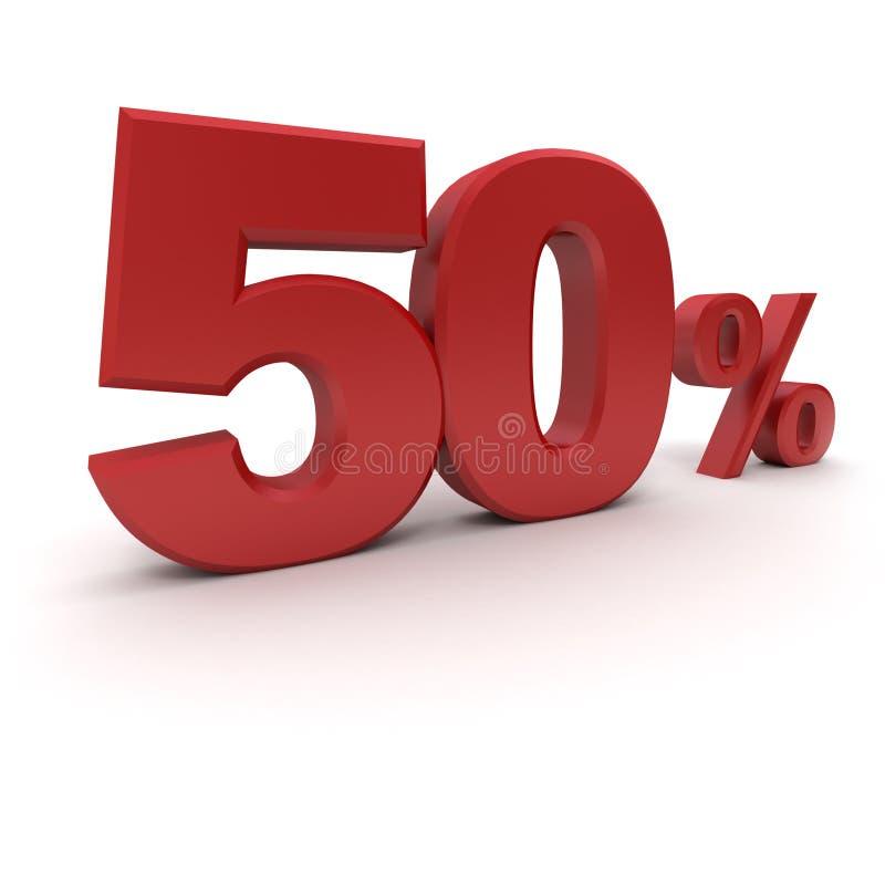 el 50% libre illustration