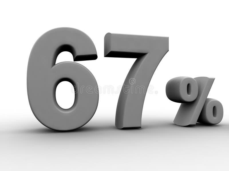El 67 por ciento