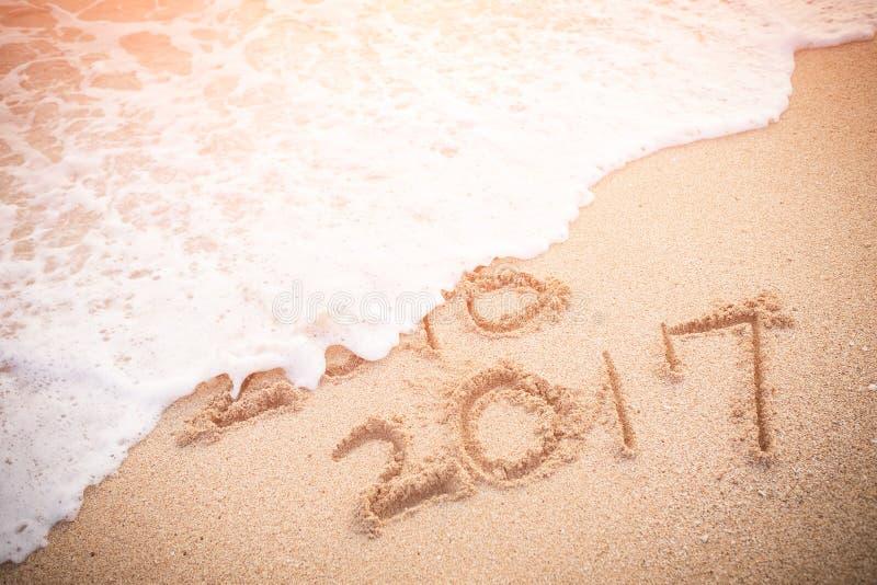 El Año Nuevo es concepto que viene fotografía de archivo libre de regalías