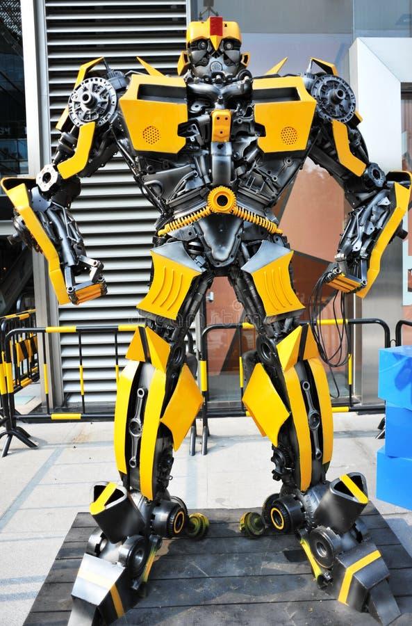 El abejorro de los transformadores imágenes de archivo libres de regalías