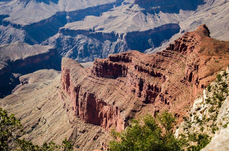 El abismo Grand Canyon imagen de archivo libre de regalías