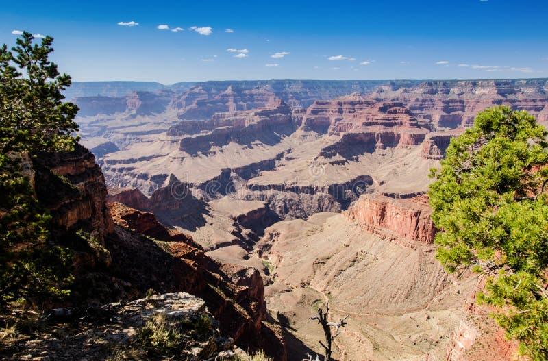 El abismo pasa por alto, parque nacional de Grand Canyon foto de archivo
