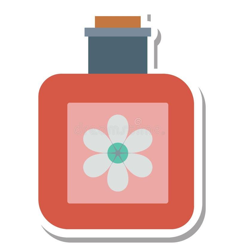 El aceite del balneario aisló el special editable del icono del vector para los proyectos de la belleza y del balneario, stock de ilustración