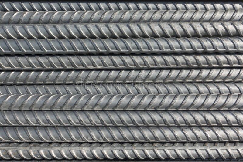 El acero deforma barras foto de archivo libre de regalías