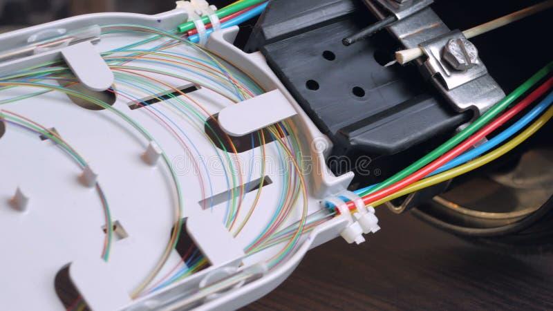 El acoplador óptico imagen de archivo
