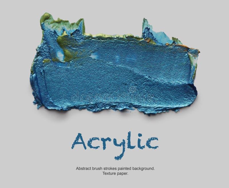 El acrílico y la acuarela abstractos cepillan el fondo pintado los movimientos imagenes de archivo