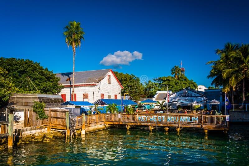 El acuario de Key West en Key West, la Florida fotos de archivo libres de regalías