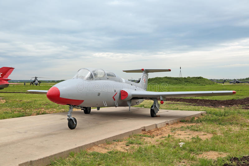 El aero- L-29 DelfÃn foto de archivo libre de regalías