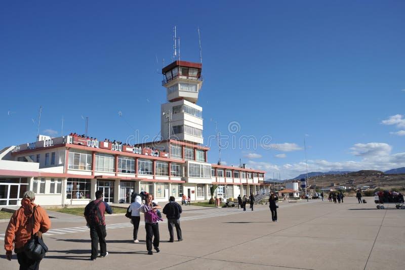 El aeropuerto de Sucre foto de archivo libre de regalías