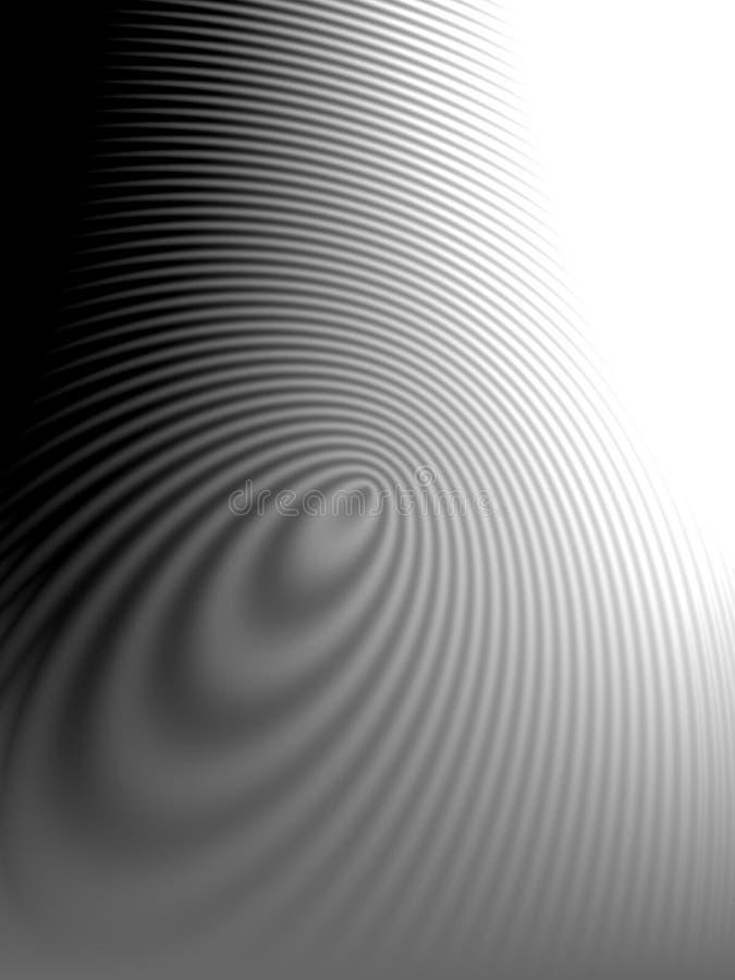 El agua ondula el modelo de ondas 3 stock de ilustración