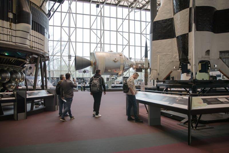 El aire y el museo espacial nacionales de Smithsonian Institution fotografía de archivo libre de regalías