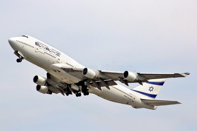 EL Al Boeing 747 photos stock