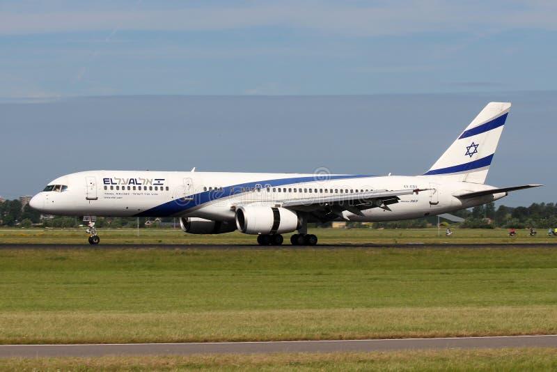 EL Al Israel Airlines Boeing 757-258 photographie stock libre de droits