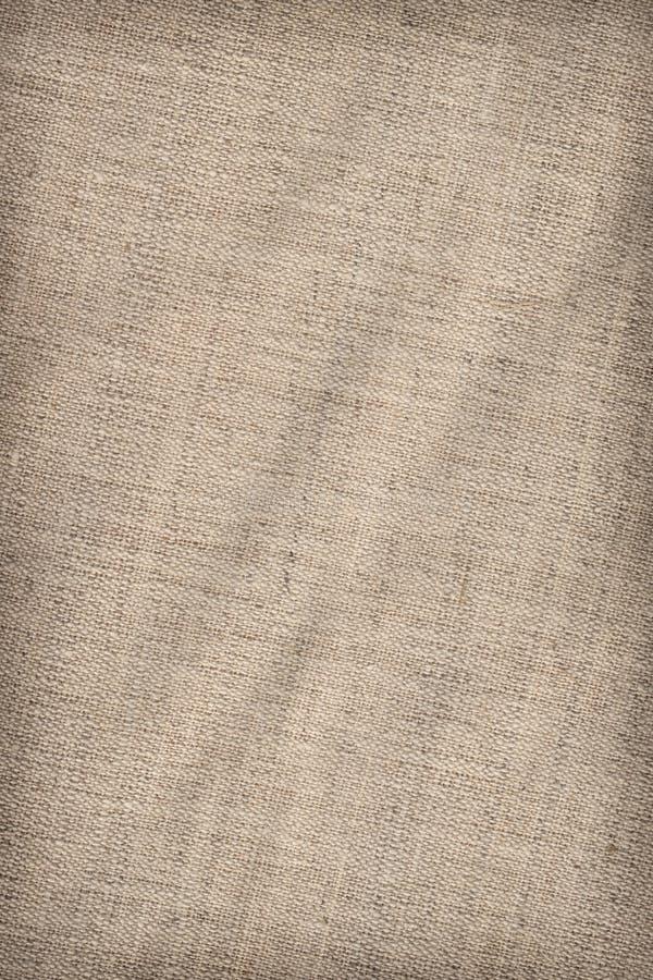 El algodón Duck Canvas Coarse Texture Sample del artista imágenes de archivo libres de regalías