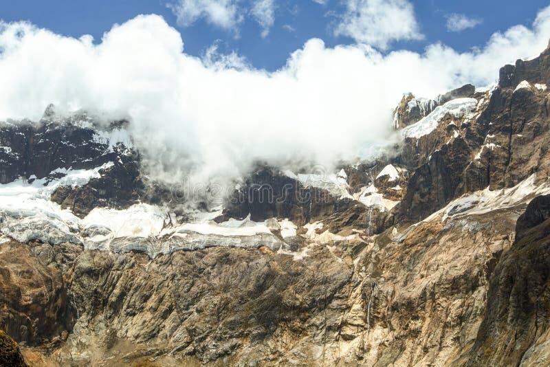 El Altar Volcano Glacier royalty free stock images