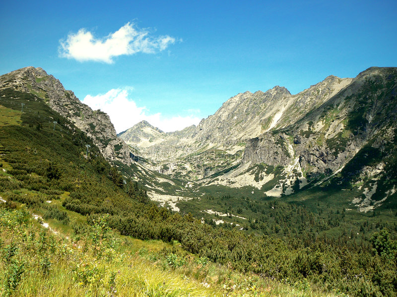 El alto Tatras foto de archivo